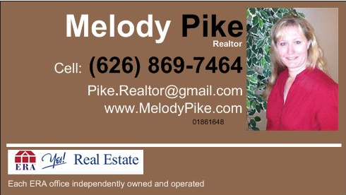 Melody Pike Business Card image