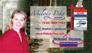 That's why my home didn't sell in Southern California? If you have any questions ask melody pike 90% of my listing sell!