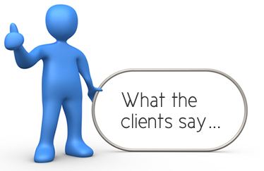 Click on the photo to see what my clients say!